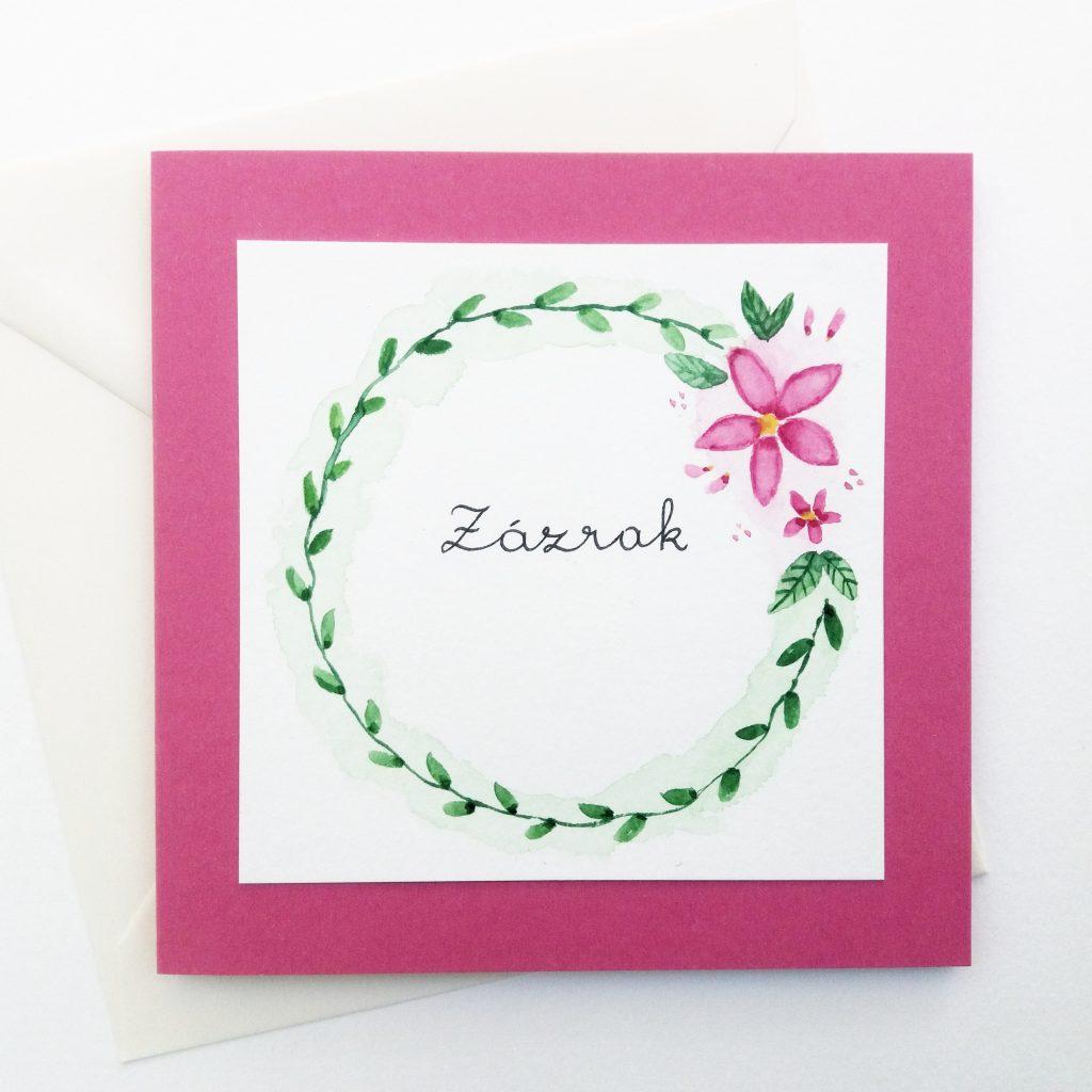 Geburtstagskarte Zazrak - Personalisierte Grußkarten und Dekoartikel