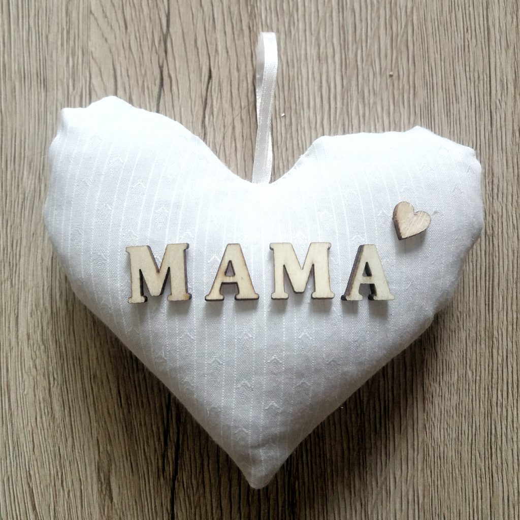Stoffherz Mama