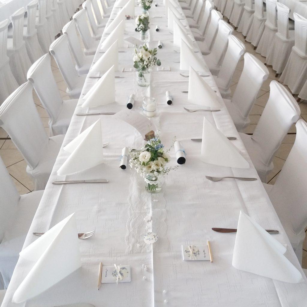 Hochzeit - Tafel Dekoration